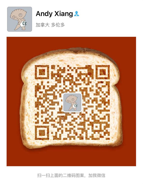 Andy wechat copy